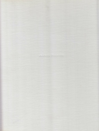 Agnes Martin. Paintings and Writings