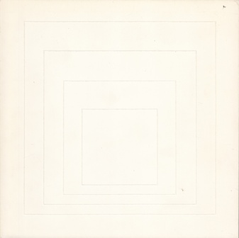 Josef Albers: White Lines Squares