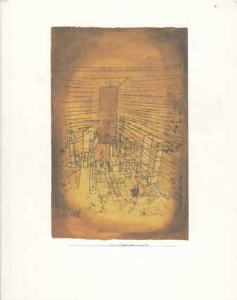 Paul Klee. The Bauhaus years.