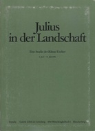 Julius in der Landschaft